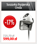 Suszarka fryzjerska Onda | 599 / 725,70 | (-17%)